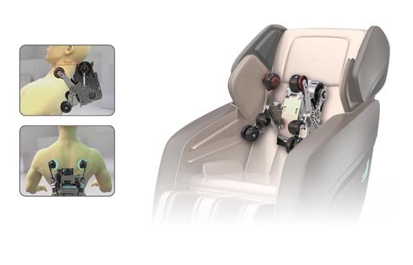 3D专利按摩机芯 深层次极致体验